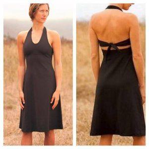 Patagonia M black Morning Glory Halter Dress